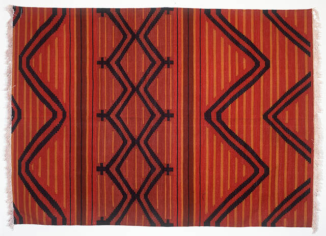 Southwestern-Style Rug by Tina B. Woolley: click to enlarge
