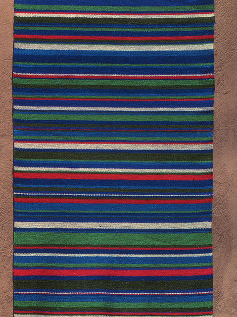 Hand-Woven Rug by Tina B. Woolley: click to enlarge