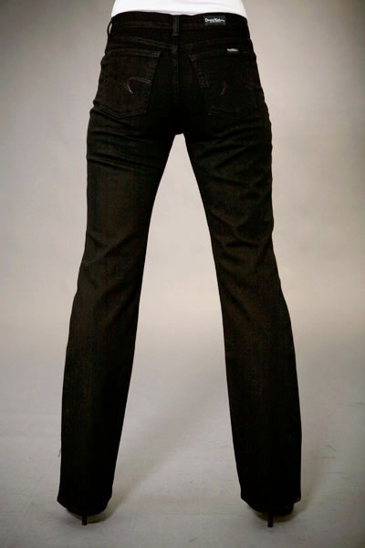 Original Rise Boot Cut Florence Wash Jeans by David Kahn