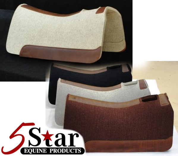 Supreme Roper Saddle Pad by 5-Star: click to enlarge