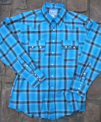 Women's Vintage Plaid Western Shirts by Rockmount: click to enlarge