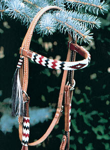 Apache Beaded Headstall