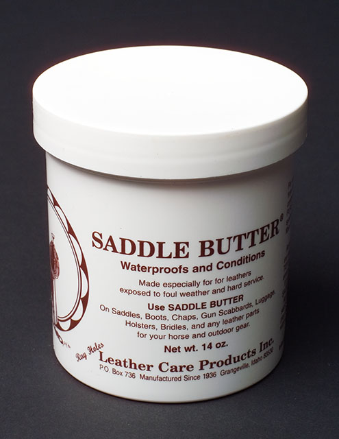 Saddle Butter by Ray Holes