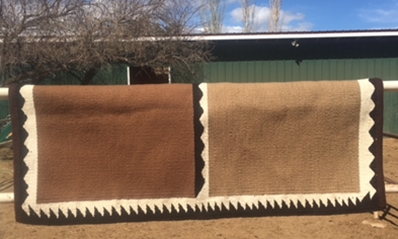 Double Fold saddle Blanket: click to enlarge