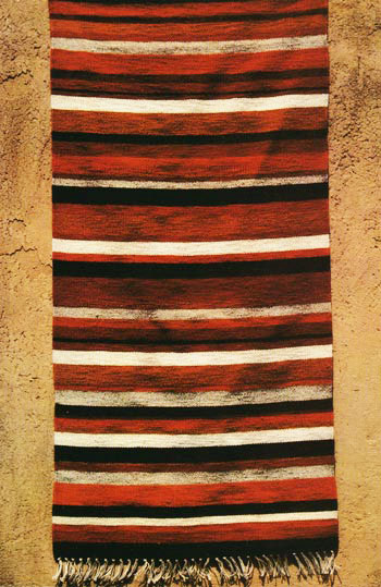 Earth Toned Rug by Tina B. Woolley: click to enlarge