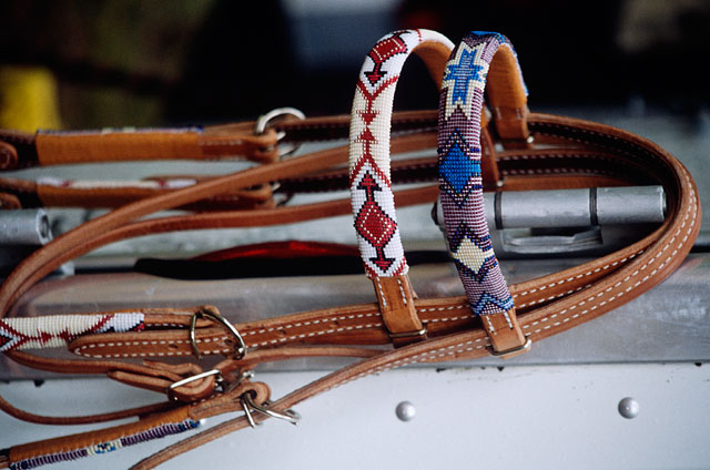 Handmade Beaded Headstall