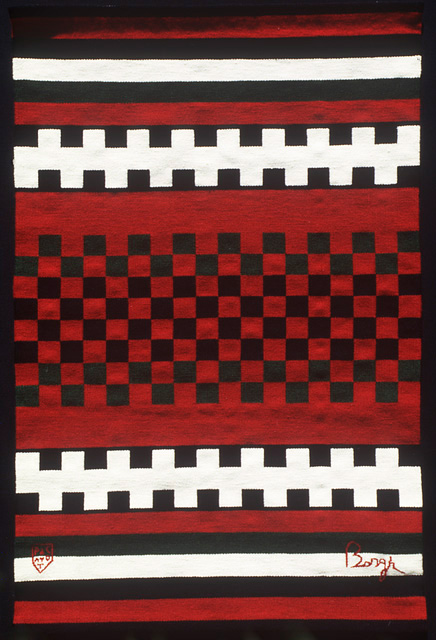 Hand-Woven Tapestry by Tina B. Woolley: click to enlarge