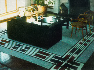 Geometric Area Rug by Tina B. Woolley: click to enlarge