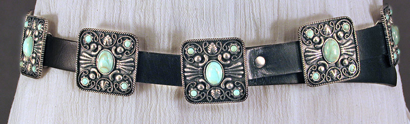 Mescalero Belt by Patricia Wolf