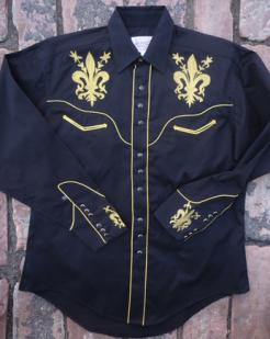 Fleur de Lis Western Shirt by Rockmount: click to enlarge