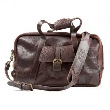 High Lonesome 19 Inch Leather Duffle by Schaefer Ranchwear
