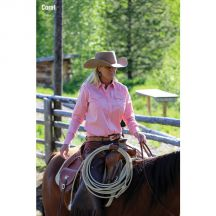Ladies Lightweight Prairie Blouse by Schaefer Ranchwear