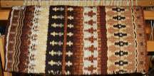 """Dusty Dawn Morning"" Hand-Woven Saddle Blanket"