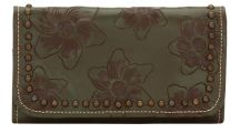 Ladies Tri-Fold Wallet by American West