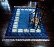 Hand-Woven Rug by Tina B. Woolley