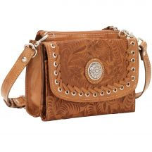 Small Crossbody Bag With Wallet by American West