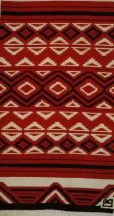 """Acoma Hill"" Hand-Woven Rug by Tina B. Woolley"