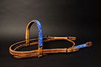 Beaded Leather Headstall