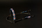 """Nambe Spring"" Handmade Beaded Headstall"