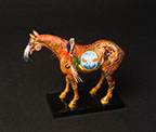 Horse Figurine by Cal Peacocks