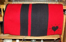 "Handmade ""Heart Brand"" Saddle Blanket"