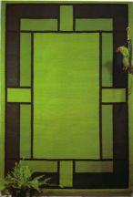 Geometric Rug and Wall Hanging by Tina B. Woolley