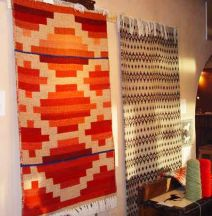 Hand-Woven Rugs by Tina B. Woolley
