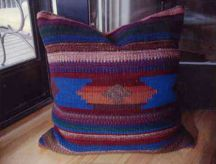 New Mexico Pillow by Tina B. Woolley