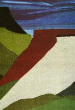 """Mesas"" Tapestry by Tina B. Woolley"