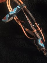 Native Dance Beaded Headstall