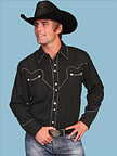 Men's Western Shirt by Scully