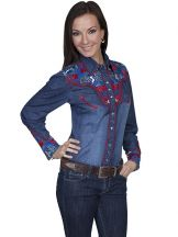 Women's Western Shirt by Scully