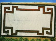 Scroll-Patterned Rug by Tina B. Woolley