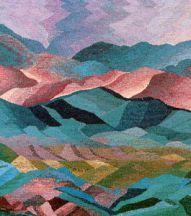 """Storm Over Cebolla"" Tapestry by Tina B. Woolley"