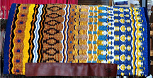 """Autumn Song"" Hand-Woven Saddle Blanket by Christina Bergh"
