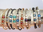 Beaded Horsehair Friendship Bracelets by Colorado Horsehair