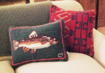 Hand-Woven Sofa Pillows by Tina B. Woolley
