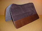 Suede Western Deluxe Saddlepad by SaddleRight