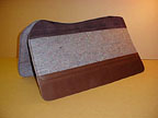 Wool Felt Western Deluxe Saddlepad by SaddleRight