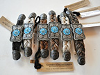 Horsehair Barrettes with Conchos by Cowboy Collectibles