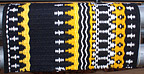 """Eclipse"", A Hand-Woven Saddle Blanket from the Brown Cow Studio in Santa Fe"
