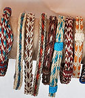 Wide Braided Horsehair Bracelets
