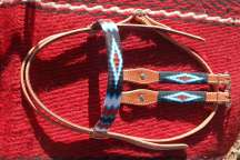 """Hopi Lands"" Beaded Headstall"
