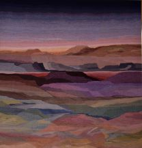 """Jemez Dawn"" Tapestry by Tina B. Wooley"