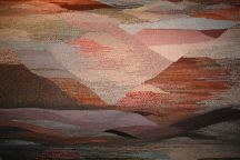 Hand-Woven Landscape Tapestry Rug by Tina B. Woolley