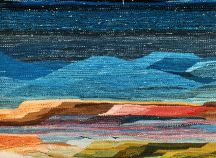 """Midnight Canyon"" Tapestry by Tina B. Woolley"