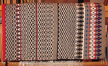"""Nordic Summer"" Hand-Woven Saddle Blanket by Christina Bergh"