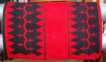 """Navajo Journey"" Hand Woven Historic Reproduction Saddle Blanket"