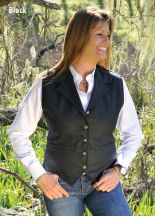 Ladies Ranger Vest by Schaefer Ranchwear