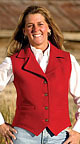 Ladies Cattle Baron Vest by Schaefer Outfitter